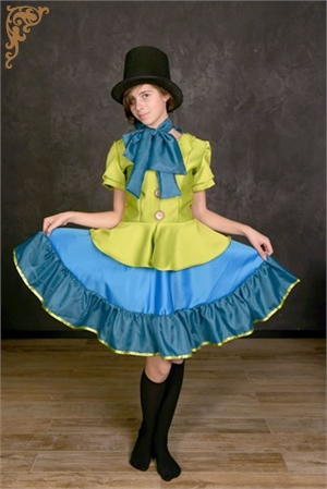 Costume for a girl Crazy Hatter by Alice